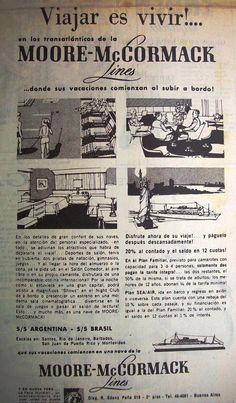 Moore McCormack Líneas Marítimas 1964