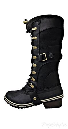 SOREL Conquest Carly Leather Boot ( I could've really used these 2 weeks ago!!)