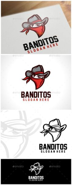 Banditos Logo Template - Humans Logo Templates