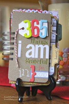 365 Ways to be Grateful Journal - I'd like to use this along with my 1000 Gifts Book!
