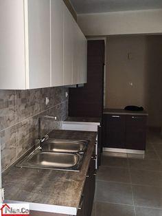 Ολική Ανακαίνιση στην Καλλιθέα Sink, Kitchen Cabinets, Home Decor, Sink Tops, Vessel Sink, Decoration Home, Room Decor, Vanity Basin, Cabinets