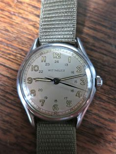 Vintage Wittnauer military watch... been looking for something like this for awhile.