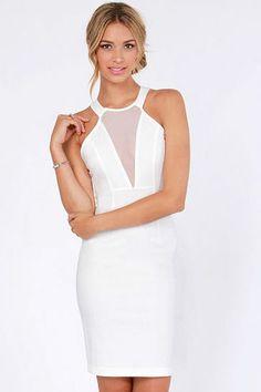 Lia Mesh Mini Dress | www.unicway.com