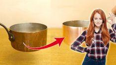 Putsa koppar kan vara både svårt och jobbigt. Men här är knepet som ger dig skinande kärl på 1 minut. Salt, vinäger och en disksvamp är allt du behöver!
