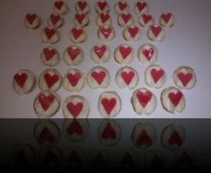White Valentine cookies Personalized Fortune Cookies, Valentine Cookies, Messages, Text Posts, Text Conversations