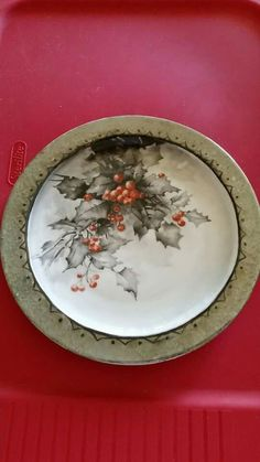 Shell Fairies Christmas Dishes, Christmas Dinnerware, Christmas China, Christmas Tablescapes, Christmas Decorations, China Painting, Tole Painting, Pottery Painting, Tole Decorative Paintings