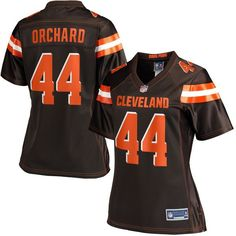 Nate Orchard Cleveland Browns NFL Pro Line Women's Player Jersey - Brown - $99.99