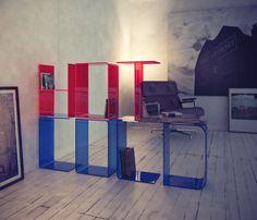 Customizable Letter Shelves
