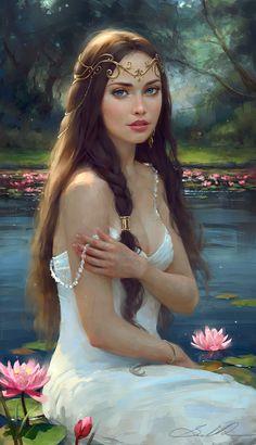 Water Lily Dream by Selenada.deviantart.com on @deviantART