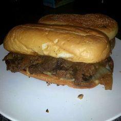 The Marlboro Man Sandwich . . .