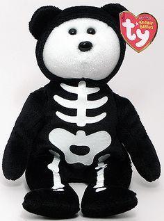 568079ad93e 2009 Boneses the Halloween Bear (Ty Beanie Babies) Beanie Baby Bears