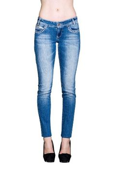 RTYou Ankle Length Jeans Women Stretch Denim Skinny Ankle Jean Casual Slim Fit Ladies High Waist Pencil Pants