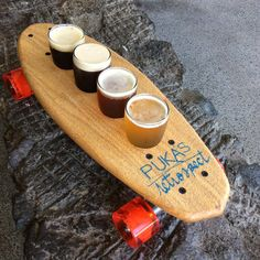Don't skate and drink!
