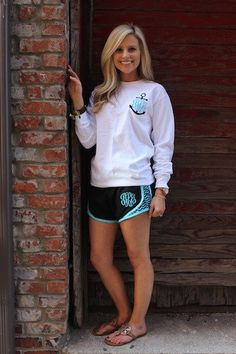 Monogrammed Tee and Shorts Set