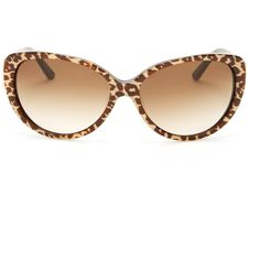 d632bec4f229 kate spade new york Women s Soliel Cat Eye Sunglasses ( 60) ❤ liked on  Polyvore