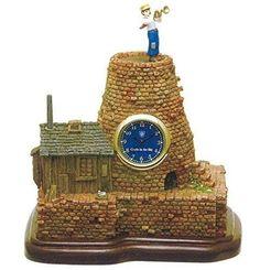 Laputa in the sky Desk Clock MIB F/S Studio Ghibli from JAPAN