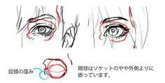 """いちあっぷ講座さんのツイート: """"【リアル系の顔の描き方】目(パーツ)だけでなく、眼球周辺の構造を理解し描きこむことで、全体のリアルな説得力を増すことができますよ! 基本から徹底解説! 正面顔と横顔の描き方   いちあっぷ講座 https://t.co/ENIG3eoqQG #液タブ当たる機械学習キャンペーン https://t.co/BHLEOT57tP"""""""