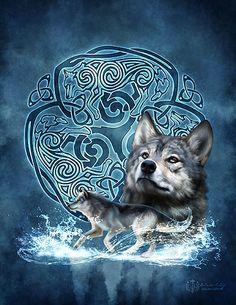 Winter Wolf - new design