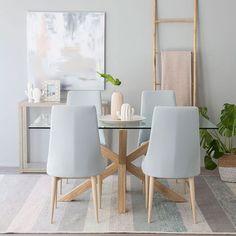 Tonos nude para tu comedor! Nuevas sillas Tai y mesahellip
