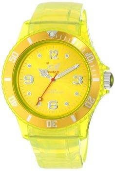Ice-Watch JYYTUU10 Ice-Jelly Watch Ice-Watch. Save 40 Off!. $66.00. Printed outside minute track. Yellow dial with Arabic numerals at 3, 6, 9. Yellow polyurethane and jelly band with buckle clasp. Water-resistant to 165 feet (50 M). Silver-tone luminous hands and markers