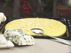 Ernst i Toscana Polenta, Parmesan, Cheese, Breakfast, Food, Morning Coffee, Meals, Morning Breakfast