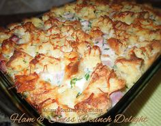 Melissa's Southern Style Kitchen: Ham & Swiss Brunch Delight
