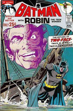 Some of Neal Adams best Batman covers.