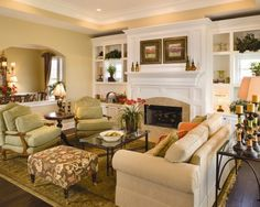 Traditional Family Room Design, Pictures, Remodel, Decor and Ideas - page 130