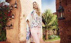 Fashion shooting Marrakech Poppy Delevingne for Monsoon Photographer: Emma Summerton