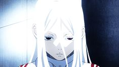 Deadman Wonderland Shiru Anime GIF | Wow thats creepy