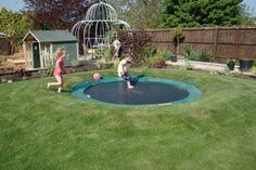 This would be great for any child.  How to create a sunken trampoline.  http://littlegreenfingers.typepad.com/little_green_fingers/2009/02/how-to-create-a-sunken-trampoline.html.  Shared on FB by https://www.facebook.com/TheHealthyHybridALifeInTransition and Sensory Processing Disorder Awareness
