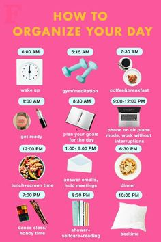 Haut Routine, Healthy Morning Routine, Morning Routines, Healthy Routine Daily, Morning Routine Printable, Daily Routine For Women, Morning Routine Chart, Morning Workout Routine, Sunday Routine