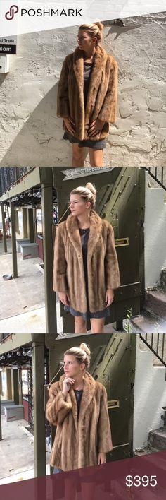 Vintage blond mink Vintage blonde mink impeccable condition vintage mink Jackets & Coats