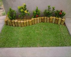 10 Agreeable Cool Tips: Backyard Garden Beds Retaining Walls small backyard garden kids.Backyard Garden Patio Pathways backyard garden on a budget suits. Outdoor Planters, Diy Planters, Planter Ideas, Garden Planters, Diy Garden, Garden Projects, Diy Projects, Herb Garden, Garden Pallet