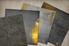 Grunge and Gold Textures - Textures