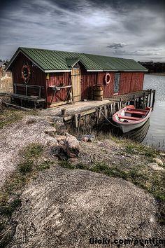 Fishing village Kökar, Finland