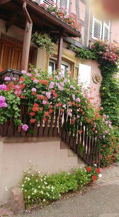 Alsacia balcón