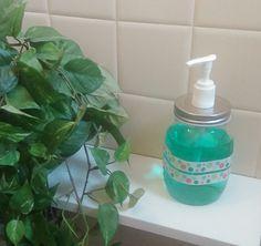 """DIY tuto Un distributeur de savon """"vintage"""""""