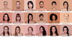 'Humanae' is a serie of portrets by Brazilian artist and photographer Angelica Dass. Based on a 11 x 11 pixels piece she analyzed the color code each skin has according to the Pantone color system (used in a variety of industries).  The matching code was used to color the background.  ~And so we learn: there's so much more between black and white then red and yellow. <3