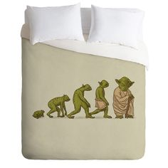 DENY Designs Home Accessories | Terry Fan Yodalution Duvet Cover