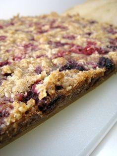 Raspberry Breakfast Bars | Cooking Recipe Central