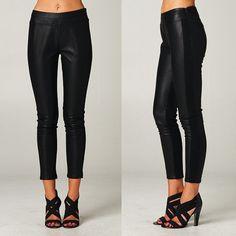 Donatella Leather Pants http://www.vanityrow.com/collections/new/products/donatella-leather-pants
