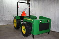 Wood Tractor Bed Plans | John Deere Tractor Bed
