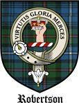 Robertson Clan Crest / Tartan / Clan Badge This is my husband's Clan Crest. REID