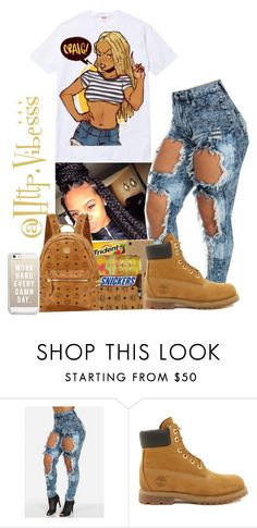 """Untitled #512"" by jazaiah7 ❤ liked on Polyvore featuring Timberland and Casetify"