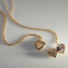 Gold Heart Locket, Heart Locket Necklace, Pendant Necklace, Sea Glass Jewelry, Stone Jewelry, Turquoise Jewelry, Silver Jewelry, Silver Earrings, Gothic Jewelry
