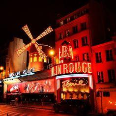Moulin Rouge in Paris, Île-de-France