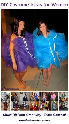 DIY Costumes for Women - a lot of homemade costume ideas!