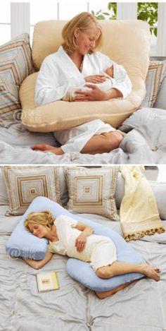 Multi-función de la almohada de las mujeres embarazadas, no es muy práctico -