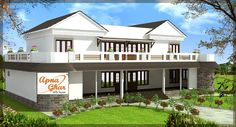 4 bedroom, modern duplex (2 floor) house design. Area: 242 sq mts (22m X 11m). Click on this link (http://www.apnaghar.co.in/pre-design-house-plan-ag-page-63.aspx) to view free floor plans and other specifications for this design. You may be asked to signup and login. Website: www.apnaghar.co.in, Toll-Free No.- 1800-102-9440, Email: support@apnaghar.co.in
